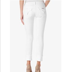 *W/ tags, never worn* Hudson white jeans size 24.